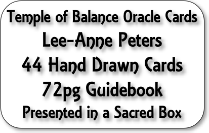 Temple of Balance Oracle Cards
